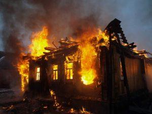 Горя къща в Белоградчик
