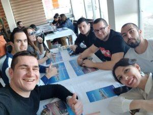 """Младежи взеха участие в младежки обмен по програма """"Еразъм+"""" в Турция"""