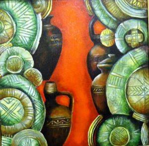 """Монтански художник показва """"Етномотиви"""" в столицата"""