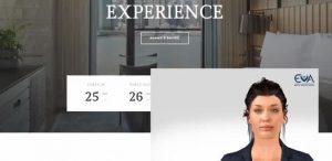 """Виртуалната """"Ева"""" вече ще работи на рецепцията в хотел в София"""