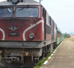 Горя локомотив в района на видинската жп гара