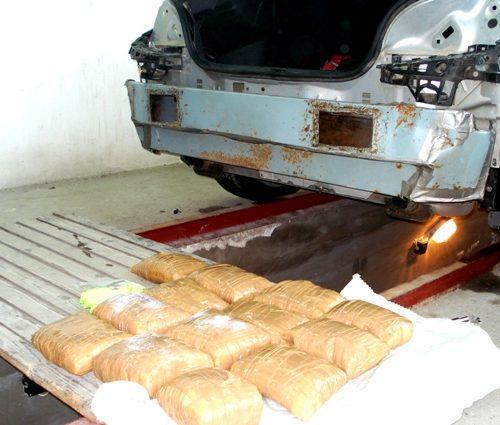 Находка за хиляди! Над 13 кг. метамфетамин задържаха митничари на Дунав мост 2