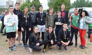 """Отборът на математическата спечели областния етап на състезанието """"Млад огнеборец"""""""