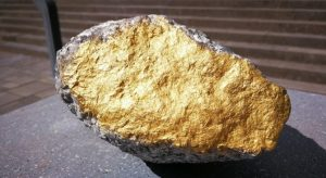 Австралиец откри с металотърсач 1,4-килограмова златна буца