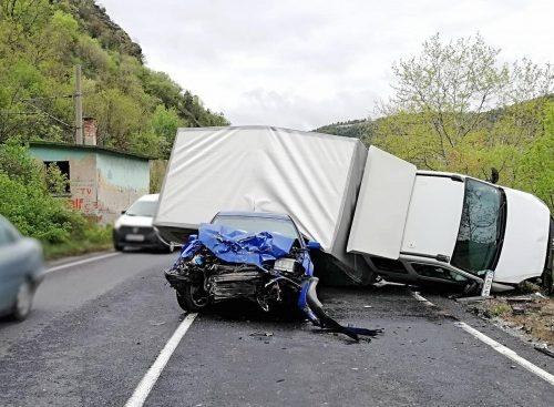 Жена загина в катастрофа на пътя Монтана – София