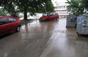 Потоп и градушка наводниха Пловдив