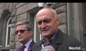 ГЕРБ внесоха в ЦИК сигнал срещу президента (видео)
