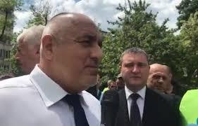 Борисов инспектира трасето на бъдещия обход на Поморие