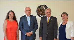 Бисер Петков се срещна с председателя на германското Сдружение за подпомагане на домове за хора с увреждания