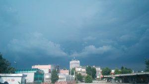 Силен дъжд и градушка падна във видинско (снимки)