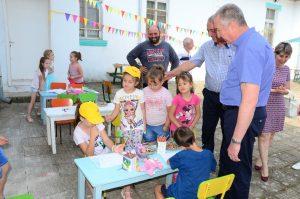 Кметът на Видин посети детския летен лагер в  Синаговци