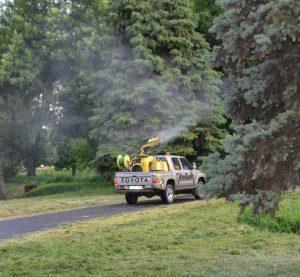 Община Видин предприема извънредна обработка  срещу комари