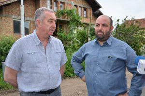 Огнян Ценков направи оглед на обновените улици в село Синаговци