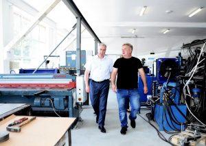 Огнян Ценков посети видинско предприятие което ще си партнира с немски инвеститори