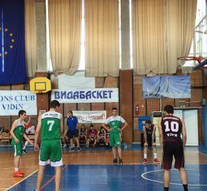 Във Видин се проведе втори Международен турнир по баскетбол за Купата на Дунав мост Видин-Калафат