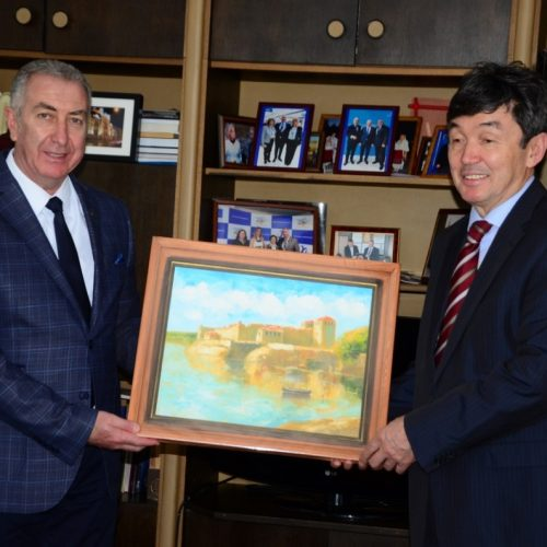 Кметът на Община Видин прие посланика на Казахстан