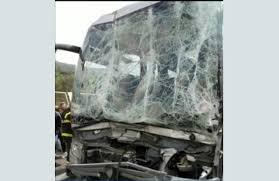 "Трима души пострадаха при катастрофа на автобус на магистрала ""Тракия"""