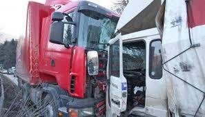 Катастрофа между два тира затвори пътя между Ружинци и Димово