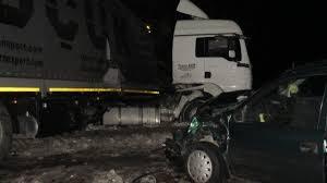 Пиян шофьор се заби в полуремарке