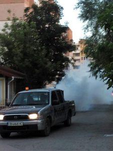 Авиационно пръскане и обработка срещу комари на територията на Община Видин
