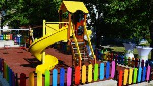 Нова детска площадка имат вече децата от Долна Вереница