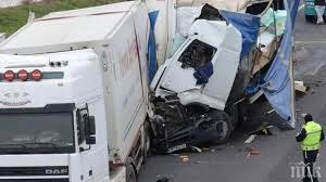 Верижна катастрофа на Е-79 Монтана – Видин: Турски тир помете кола и товарен автомобил