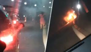 "Автомобил с газова уредба се запали в тунел ""Витиня"""