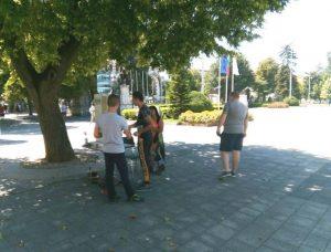 В Плевен откриха пункт за раздаване на безплатна минерална вода