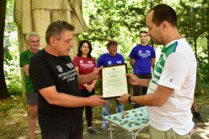 Калин Каменов връчи грамота на доц. д-р Нарцис Торбов (Снимки)