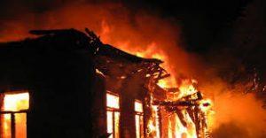 Пожар унищожи селскостопанска постройка в монтанско село