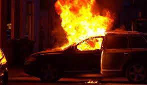 Автомобил се запали във Видин