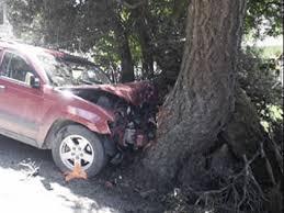 Каръщината на един крадец: Открадна кола и се заби в дърво, край Монтана