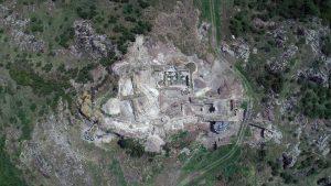 Откриха владетелска кула от XIII в. в крепостта Русокастро (Снимка)