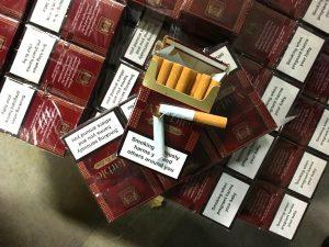 Откриха безбандеролни цигари в частен дом в монтанско