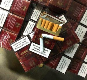 22 800 къса цигари задържаха митнически служители на МП Калотина