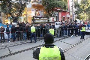 Протестиращи окупираха сградата на ВСС заради избора на Иван Гешев (Снимки)