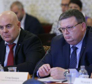 Цацаров и Гешев са на посещение в САЩ