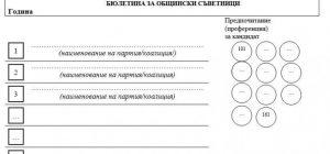 Бюлетини като за цял общински съвет във Видин се оказаха невалидни  (Новините на Видин Вест)