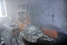 Дете инвалид пострада при пожар