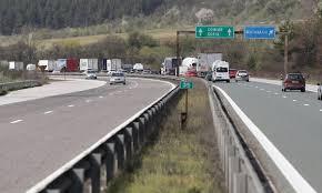 """До 18 ч. днес шофьорите да се движат с повишено внимание на АМ """"Тракия"""""""