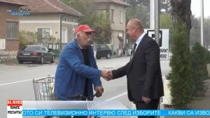 Ружинци ликува! Посрещнаха Александър Александров с хоро и българското знаме (Темите-Рестартът)