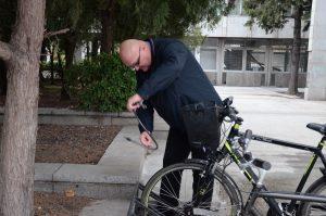 Кметът на Видин спази обещанието си дадено пред нашите камери – тръгна на работа с колело