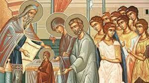 Днес отбелязваме Въведение Богородично