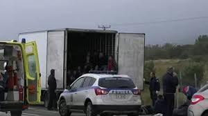 Хладилният камион с мигрантите в Гърция също е български?