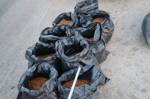 220 кг тютюн без бандерол са иззели служители на  полицията във Видин.
