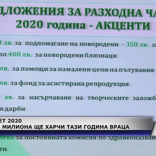 Над 76 милиона лева ще харчи Враца тази година (Новините на Видин Вест)