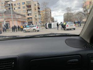 Медицински служител пострада в катастрофа, настанен е във Видинската болница