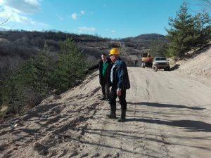 """Калин Каменов инспектира изграждането на Довеждащия водопровод от яз. """"Среченска бара"""" до Враца (Снимки)"""