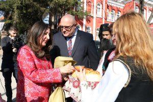 Американският посланик посети Видин (Снимки)