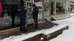 Собственик на автомат за кафе във Враца наруши противоепидемичните мерки (Снимки)